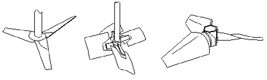 轴流型搅拌器