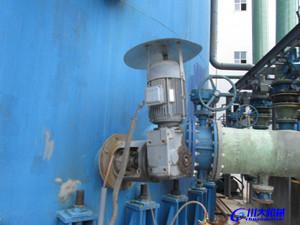 吸收塔侧入式搅拌装置的应用